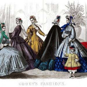 CharmaineZoe's Marvelous Melange Follow Godeys Ladys Book March 1864