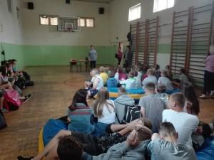Spotkanie informacyjne w Zespole Szkół w Dołdze
